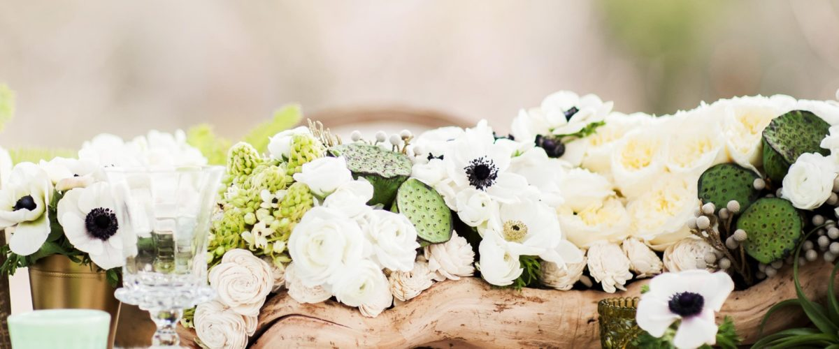 decoration mariage centre table fleurs nature location decorevents gironde